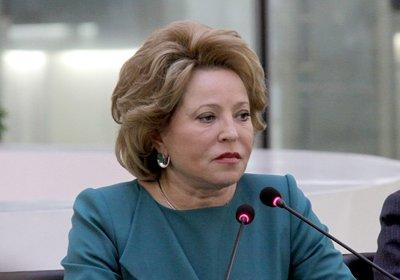 Матвиенко ответила на вопросы казанских студентов