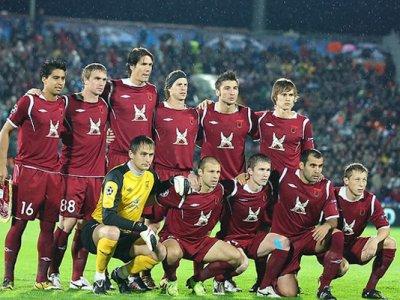 «Рубин» одержал победу в Лиге Европы с итальянским «Интернационале» со счетом 3:0