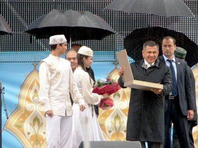 Президент Татарстана вручил Государственные премии им. Г.Тукая