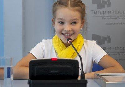 Представлять Россию на детском Евровидении-2013 будет Даяна Кириллова из Казани