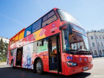 Экскурсионные двухэтажные автобусы оставят в Казани