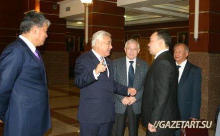 Фарид Мухаметшин провел встречу с делегацией из Кыргызской Респубики