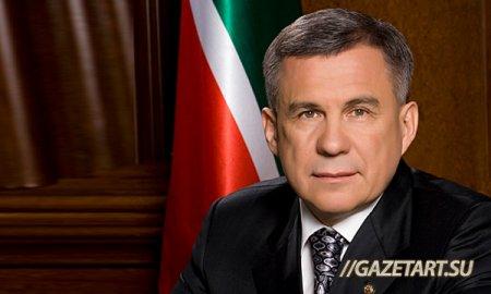 Президент Татарстана вошел в рейтинг мужчин года